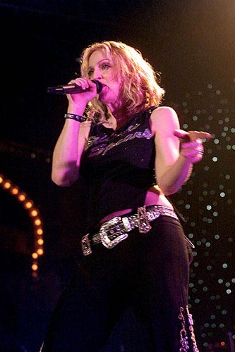 Gig at Roseland Ballroom, NYC in November 2000
