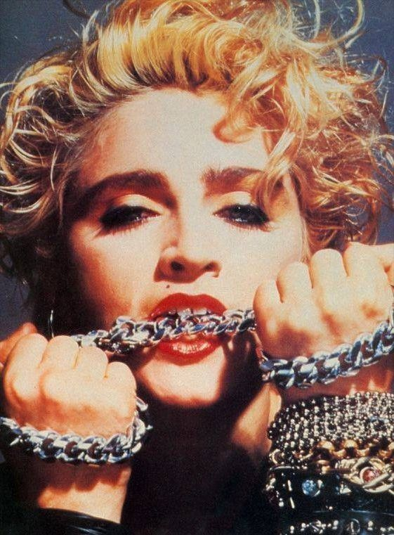 Madonna in 1983 (by Gary Heery)