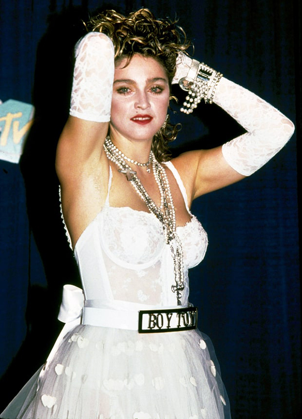 Madonna at the 1984 MTV Awards