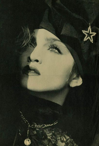 Madonna phtographed by Francesco Scavullo