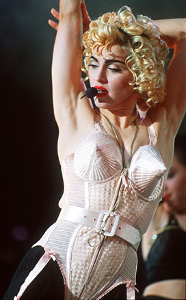 Vogue @ Blond Ambition Tour