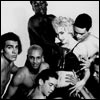 Madonna with her Blond Ambition dancers
