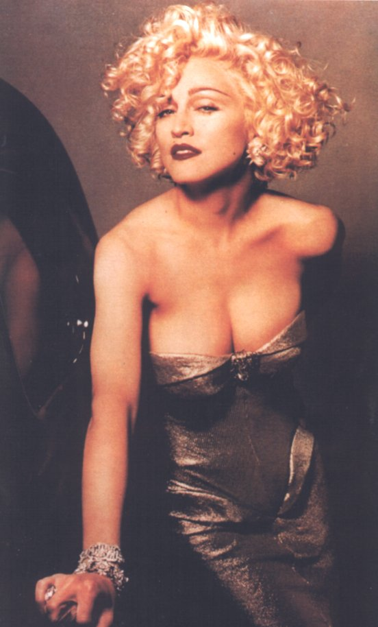 Madonna as Breathless Mahoney in Dick Tracy