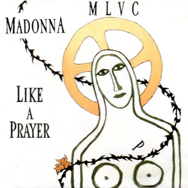 Madonna - Like A Prayer (Lyrics On Screen) - YouTube