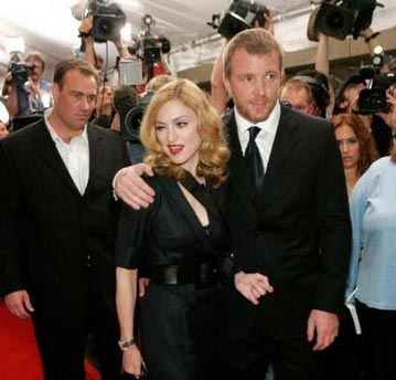 Madonna & Guy at the UK premiere of Revolver in 2005