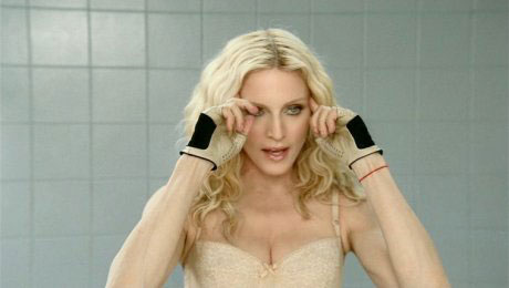 Madonna in the 4 Minutes video