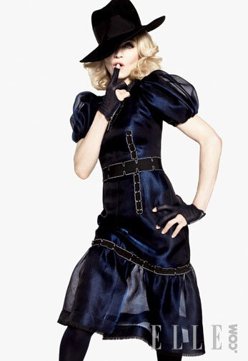 Madonna in Elle magazine