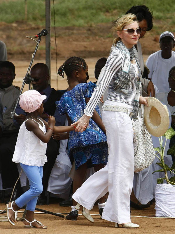 Madonna and Mercy in Malawi