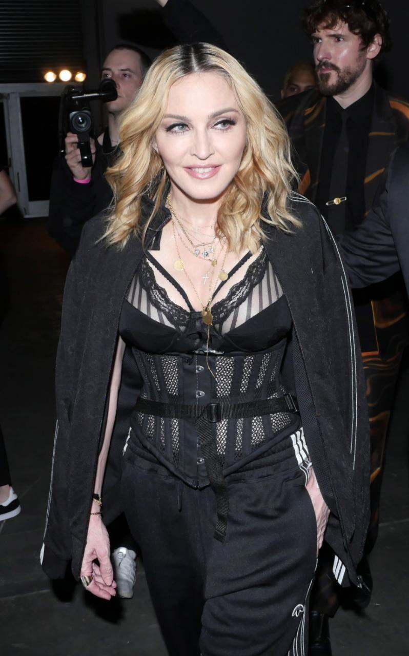 Lourdes Leon And Madonna 2014