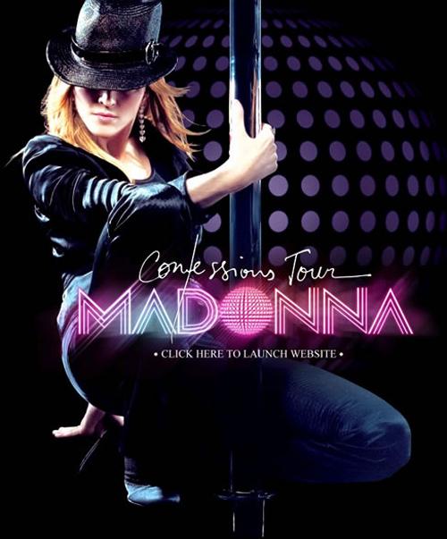 madonna confessions tour poster - photo #3