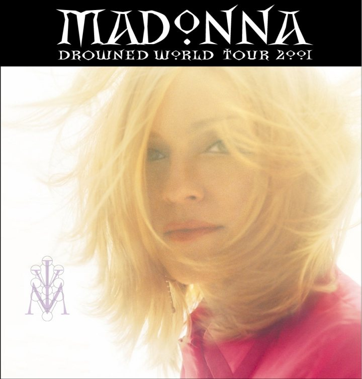 Madonna Drowned World Tour Poster