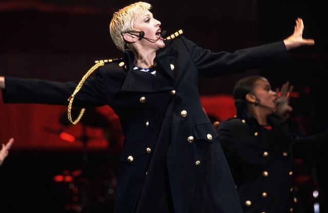 Image result for Madonna HOliday Girlie Show