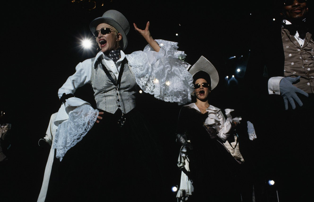 Girlie Show Pictures Madonna Photos Live On Stage Mad Eyes