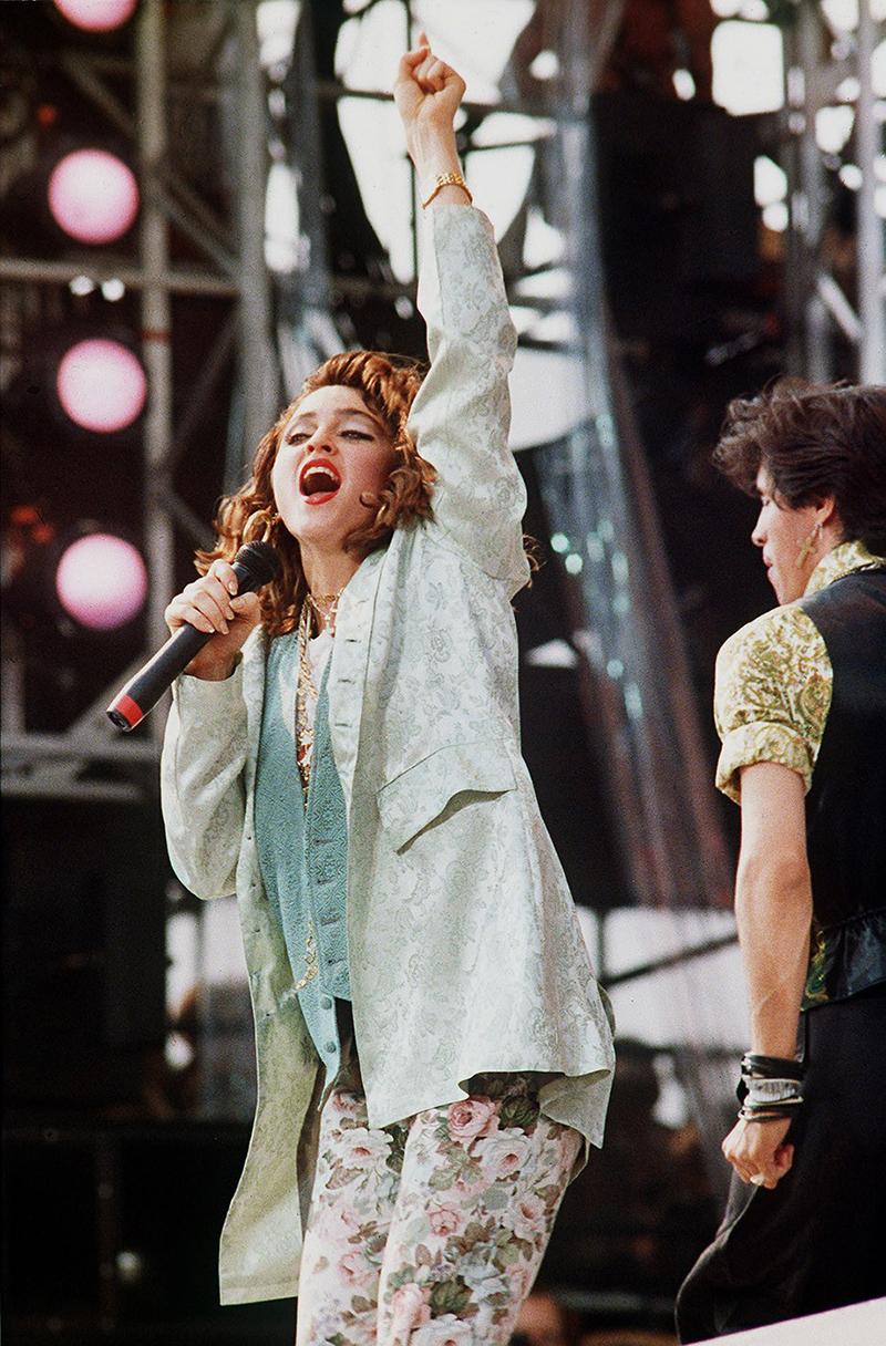 Live Aid - Madonna ben...