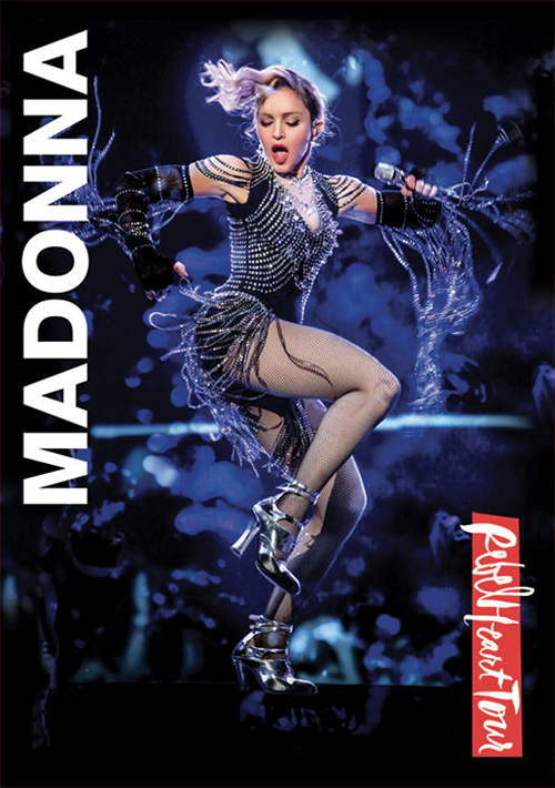 Cover of Rebel Heart Tour dvd by photographer Josh Brandão