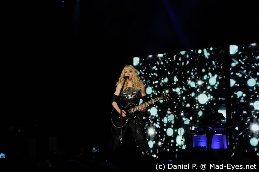 Performing Ray Of Light in Paris