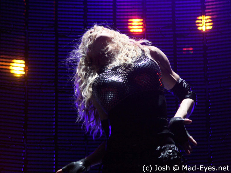 Madonna Give It  Me Live Sticky And Sweet Tour
