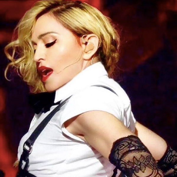 Madonna at the Rebel Heart Tour