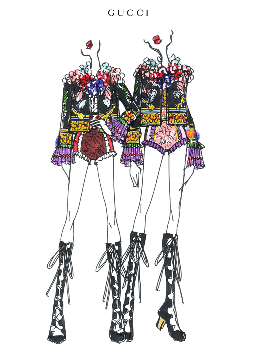 rebel heart tour costume designs